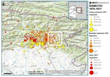 Friuli 1976 earthquake and multiple seismic swarms