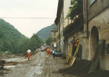 Stazzema, 19 June 1996/2016: Alessandro Moni, Anpas volunteer, recalls the flood